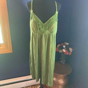NWT Apt9 army green summer dress XL